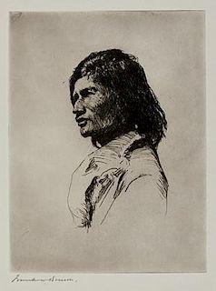 Frank W. Benson (1862-1951) Nascaupee Indian