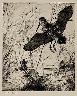 Frank W. Benson (1862-1951) The Woodcock