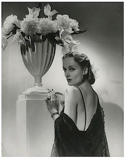 Carole Lombard Glamour Photo from the John Springer Collection.