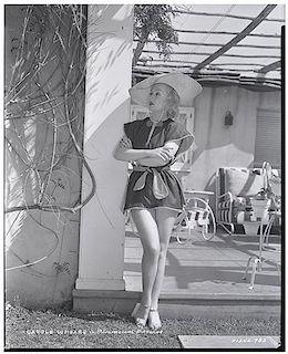 Carole Lombard Eastman Kodak Nitrate Negative.