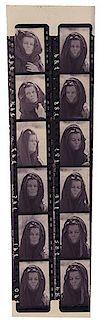 "A 35mm Photo Negative Strip of Katharine Hepburn in ""The Trojan Women."""
