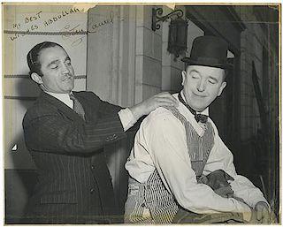 Stan Laurel Photograph Signed.