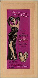 Original Gilda Poster Concept Artwork.