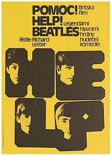 [Beatles] Two Czech Film Festival Posters