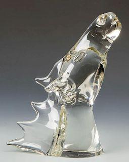 Livio  Seguso (Italian, b. 1930) Figural Glass Horse Head