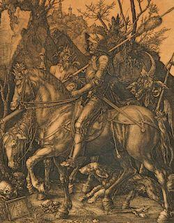 After Durer Knight, Devil, Death