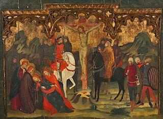 17th C European Ecclesiastical Vignette