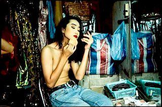 Nan Goldin, (American, b. 1953), Yogo Putting On Powder, Second Tip, Bangkok, 1992