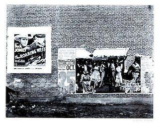 Walker Evans, (American, 1903-1975), Minstrel Showbill, Alabama, 1936