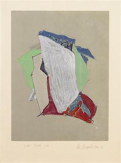 John Chamberlain, (American, 1927-2011), Broke Purple, Also, 1983