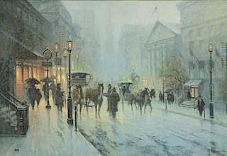 G. Harvey b. 1933 | Wall Street