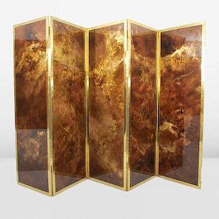 Guy Lefevre 5-Panel Screen/Room Divider