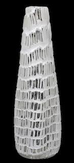 VENINI CONTEMPORARY OCCHI ART GLASS VASE