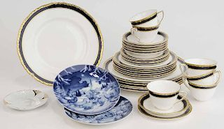 Group Thirty Three Pieces of China