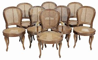 Set of Eight Provincial Louis XV Style