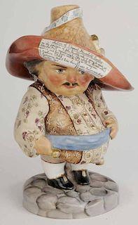 Auctioneer Figurine