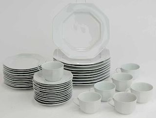 A. Raynaud Partial Dinner Service,