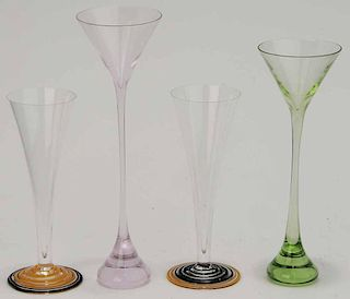 Four Drinking Vessels by Carlo Moretti