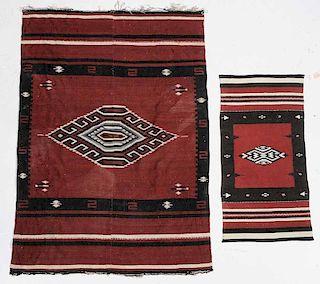 Navajo Rug and Mat