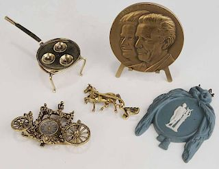 Group of Five Table Items