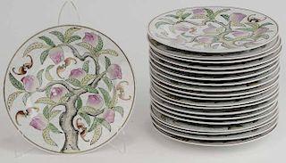 Set Twenty Asian Dinner Plates