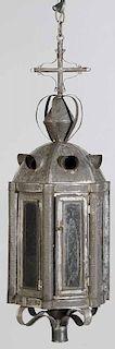 Large Tin Lantern, Electric