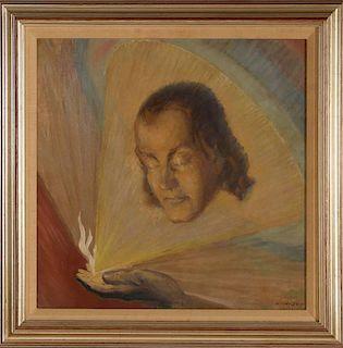 DANIEL MacMORRIS (1893-1981) 1932 OIL ON CANVAS