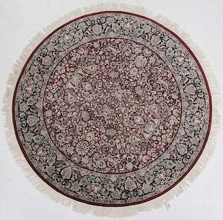 NW Persian Round Rug