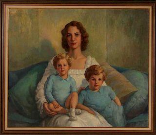 DANIEL MacMORRIS (1893-1981) OIL ON CANVAS