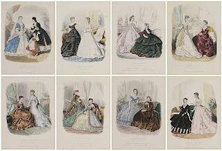 Eight [La Mode Illustrée] Prints