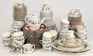 One Hundred Sixty Two Pieces of China