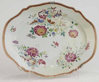 Chinese Export Famille Rose Platter