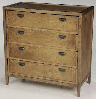 Maple Four Drawer Dresser