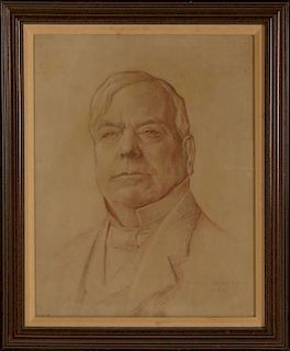 DANIEL MacMORRIS (1893-1981) PORTRAIT OF WILLIAM ROCKHILL NELSON