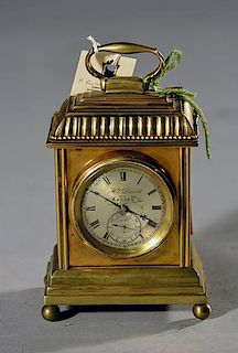 H. Darvell Carriage Clock