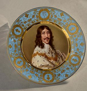 Louis XIII Portrait Plate