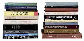 21 Books on Fine Art