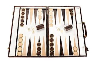 Baldessarini for Hugo Boss Backgammon Game Set
