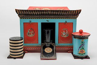 Okito Checker Cabinet.