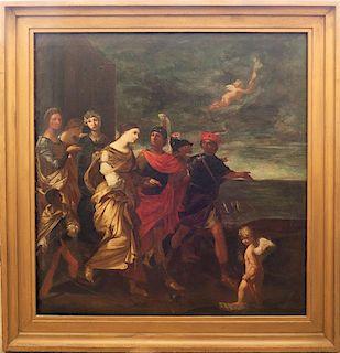 Italian Old Master Mythological LARGE Painting