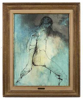 Jean Jansem (1920-2013) painting