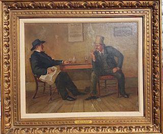Andrew Thomas Schwartz (1867-1942) Kentucky Duveneck Cincinnati Painting