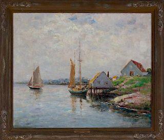 Dedrick Stuber (1878-1954) California Impressionist Painting