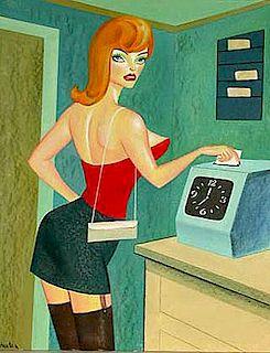 Boris Zherdin Illustration Playboy Magazine