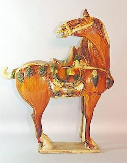 Tang-style Pottery Horse