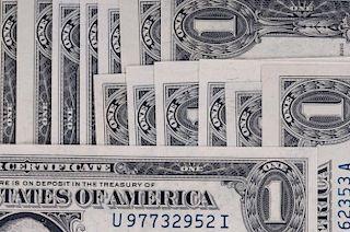 Uncirculated U.S. $1 Silver Certificates