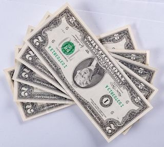 Uncirculated U.S. $2 Bills Collection
