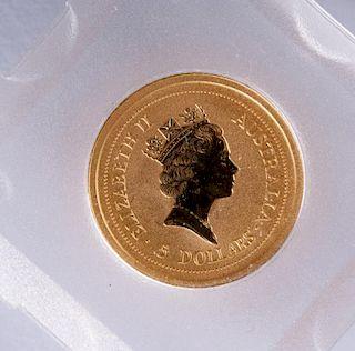 $5 Australia Gold Coin