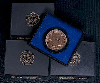Paul Revere & John Adams Bicentennial Medals
