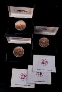 National Bicentennial Medals Trio